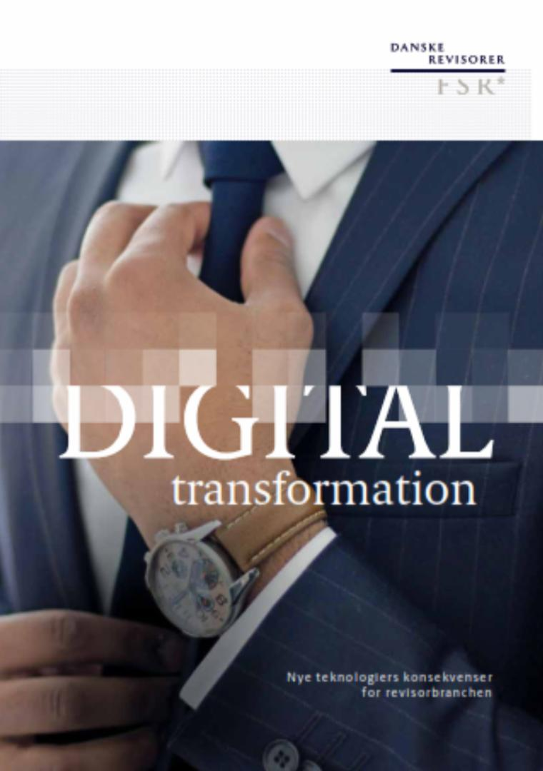Forsidefoto af publikationen Digital transformation